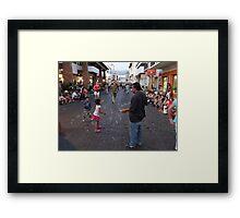 Waiting - Esperando Framed Print