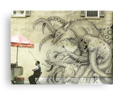 Monster Graffiti Canvas Print