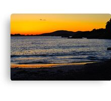 Es Forti Sunset IV Canvas Print
