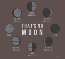That's No Moon - Death Star Phases One Piece - Short Sleeve
