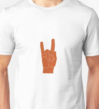 Hook Em Hand Sign Unisex T-Shirt