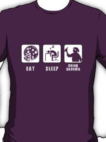 Eat, Sleep, Drink Skooma T-Shirt