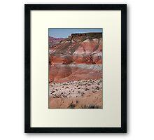 The Painted Desert  8020 Framed Print