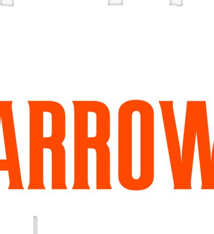 Arrow in the Knee - Text Only Sticker