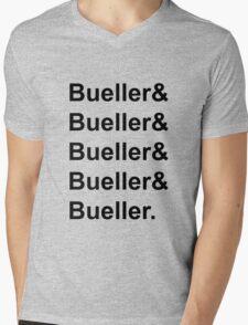 Bueller, Bueller, Bueller, anyone?  Mens V-Neck T-Shirt