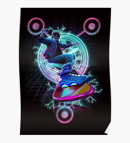 Hoverboard to the Future Poster