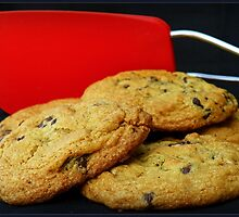 Spatula and Cookies by LisaMarie Miranda