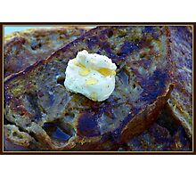 French Toast with Butter Photographic Print