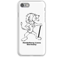 HHS Lions Iphone Case iPhone Case/Skin