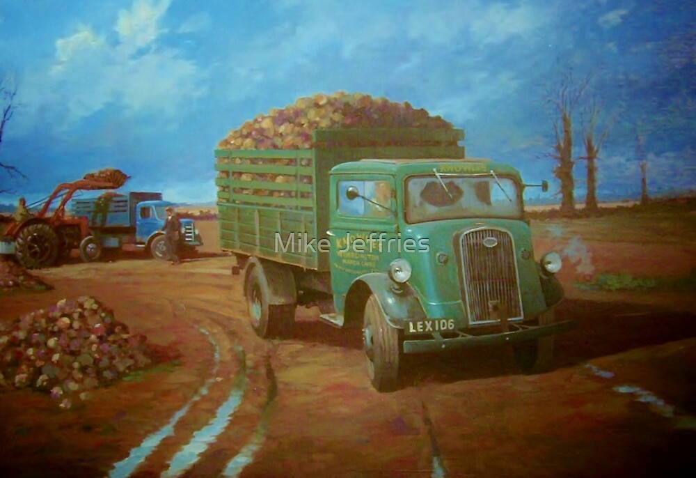 Knowles' Ford 7V on sugar beet. by Mike Jeffries