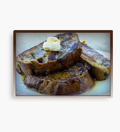Sweet Potato French Toast Canvas Print
