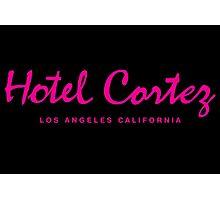 HOTEL CORTEZ Los Angeles California - Neo Noir Photographic Print