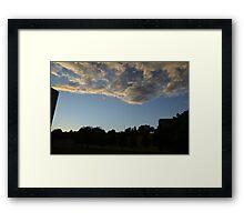 Blue Visions 4 Framed Print