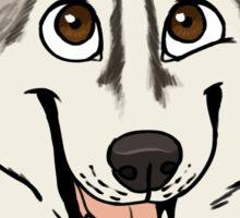 Jasper the Husky - Custom Sticker