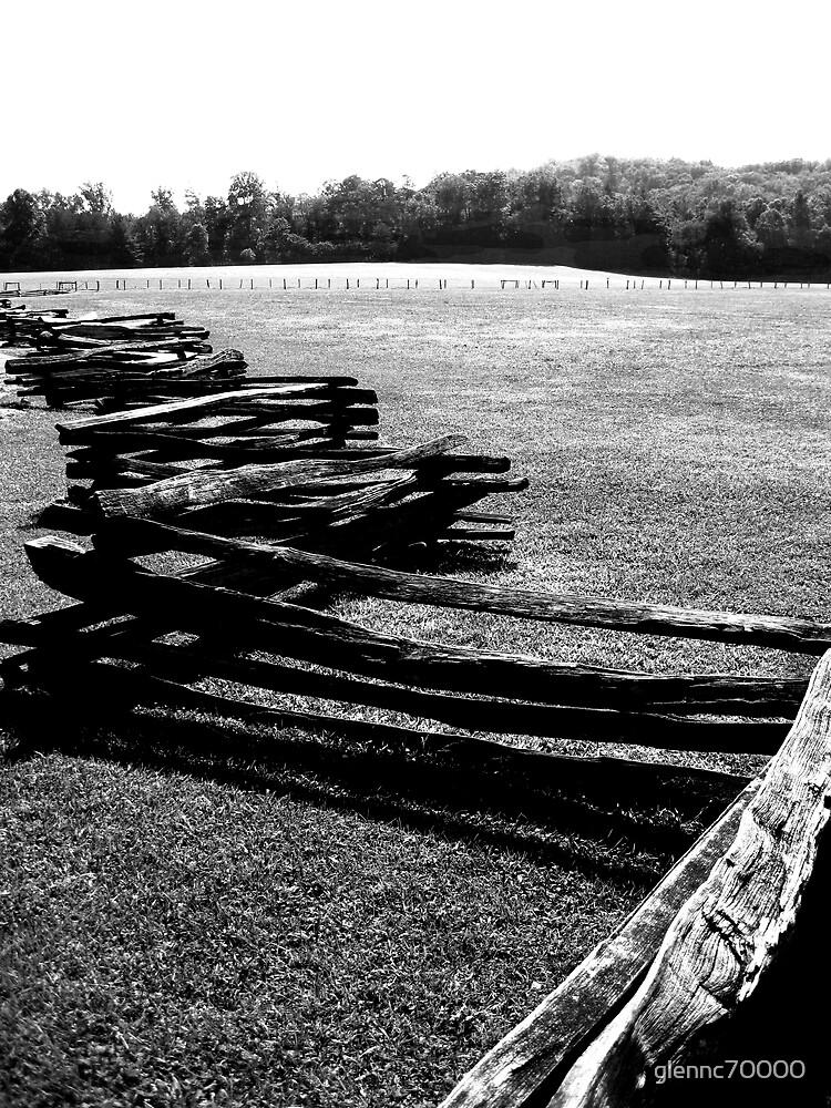 Recinzione di legno - Numero due by glennc70000