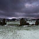 Castlerigg Snow by Brian Kerr
