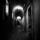 Grim corridor in Kilmainham gaol by Esther  Moliné
