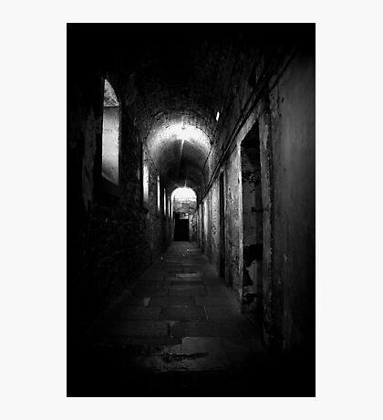 Grim corridor in Kilmainham gaol Photographic Print