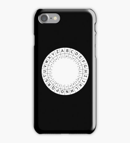 The One (Decoder) Ring iPhone Case/Skin