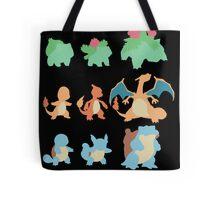 Evolution of Pokemon Tote Bag