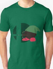 Link (Kirby Hat) - Sunset Shores Unisex T-Shirt