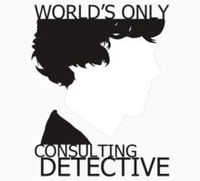 World's Only Consulting Detective Kids Tee