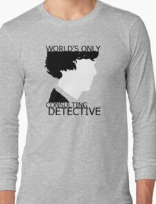 World's Only Consulting Detective Long Sleeve T-Shirt