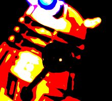 Dalek Pop Art Print Poster or Canvas by ste6475