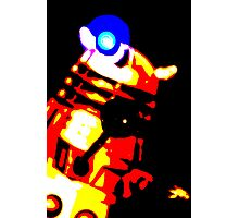 Dalek Pop Art Print Poster or Canvas Photographic Print