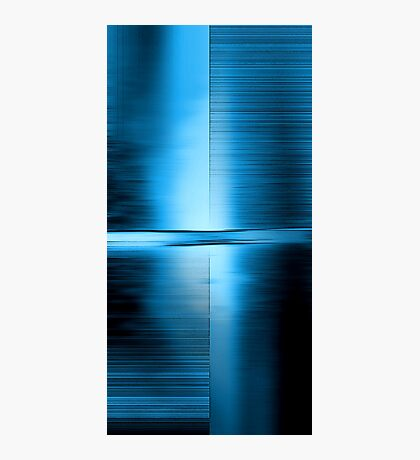 Shimmering Blue Photographic Print