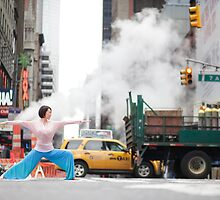 Yoga in Manhattan, New York by Wari Om  Yoga Photography