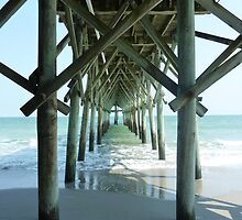 Under a Pier by Jennie Whiting