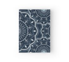 Black White Blue Mandala Hardcover Journal
