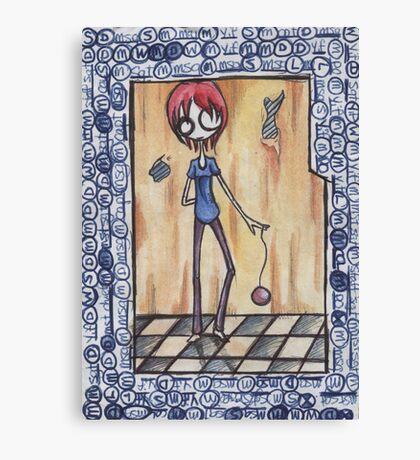 Yo YO! Girl Canvas Print