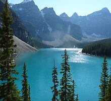 Moraine Lake by Jennie Whiting