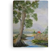 Aussie Country Scene Canvas Print