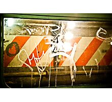 Subway Graffiti-2 Photographic Print