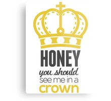 You Should See Me In A Crown - Moriarty Sherlock Metal Print
