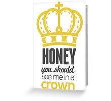You Should See Me In A Crown - Moriarty Sherlock Greeting Card