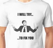 David Tennant: Fix You Unisex T-Shirt