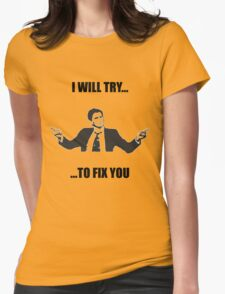 David Tennant: Fix You Womens Fitted T-Shirt