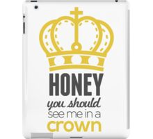 You Should See Me In A Crown - Moriarty Sherlock iPad Case/Skin