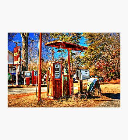 Rusty Pumps Photographic Print