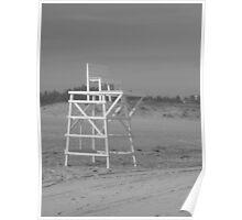 Lifeguard Chair Poster