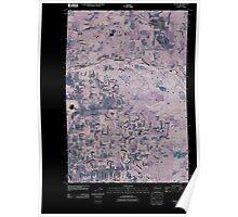 USGS Topo Map Washington State WA Yacolt 20110404 TM Inverted Poster