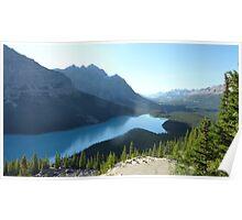 Peyto Lake Poster