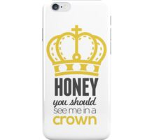 You Should See Me In A Crown - Moriarty Sherlock iPhone Case/Skin