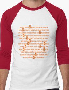 Pence Speech Men's Baseball ¾ T-Shirt