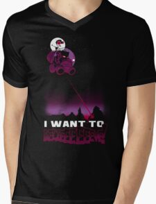 I Want to BELIEEEEEEVE! Mens V-Neck T-Shirt
