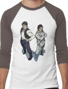 Star Wars excitement in the DCU Men's Baseball ¾ T-Shirt